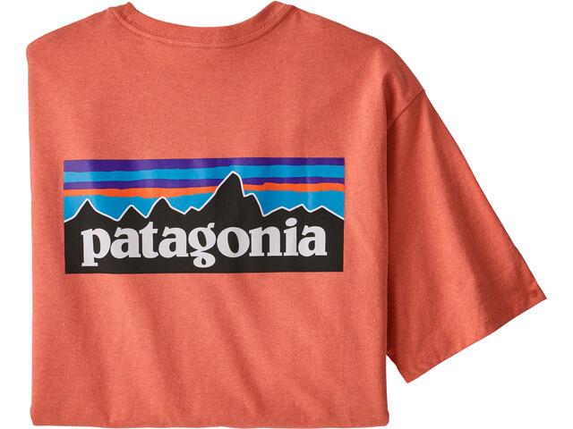 Patagonia P-6 Logo Responsibili-Tee Men, coho coral